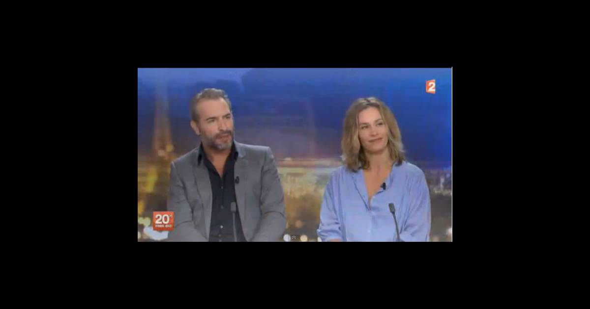 Laurent delahousse interview compliqu e avec jean for Jean dujardin interview