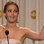 Jennifer Lawrence aux Oscars : Alcool, geste osé et petit dérapage de l'actrice