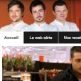 Capture d'écran du site Internet Auchan - Top Chef