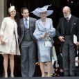 Sophie Winkleman, Lord Frederick Windsor, le princesse et la princesse Michael de Kent le 5 juin 2012 à Londres.