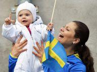 Princesse Estelle : Fervente supportrice dans les bras de sa maman Victoria