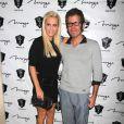 Perez Hilton et Jenny McCarthy lors d'une soirée à Las Vegas, le 18 août 2012.
