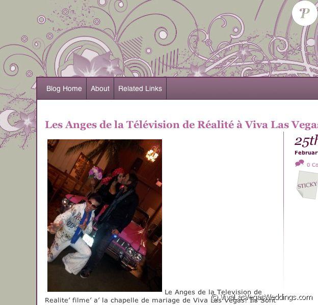 Nabilla et Thomas se marient dans Les Anges de la télé réalité 5 le 25/02/13.