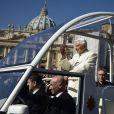 Adieux de Benoît XVI au Vatican, le 27 fevrier 2013.