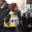Rihanna arrive à son hôtel à Londres, le 4 mars 2013.