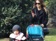 Jessica Alba : Shopping avec sa fille et promenade sous le soleil parisien