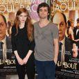 Agathe Bonitzer et Arthur Dupont lors de l'avant-première du film Au bout du conte à Paris le 4 mars 2013
