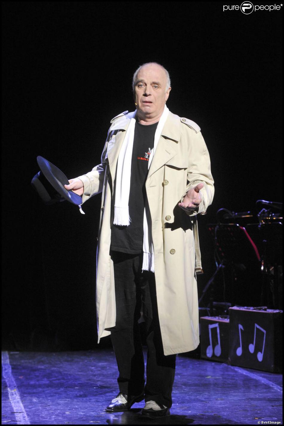 Jérôme Savary lors du filage de la pièce Une trompinette au paradis le 16 septembre 2010