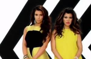 Kim Kardashian et sa soeur Kourtney, working girls sexy, font le show à Miami