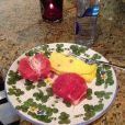 Rob Kardashian poste une photo de son petit déjeuner le 21 février 2013.