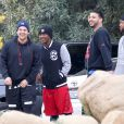 Robert Kardashian fait du sport à Runyon Canyon, à Los Angeles, le 5 mars 2013.