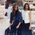La belle Yasmin Le Bon et sa fille Amber sont les nouveaux visages de la campagne printemps-été 2013 de Monsoon.