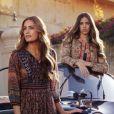 Yasmin Le Bon et sa fille Amber sont les nouveaux visages de la campagne printemps-été 2013 de Monsoon.