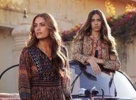 Yasmin Le Bon et Amber Le Bon : Egéries mode et beautés troublantes pour Monsoon