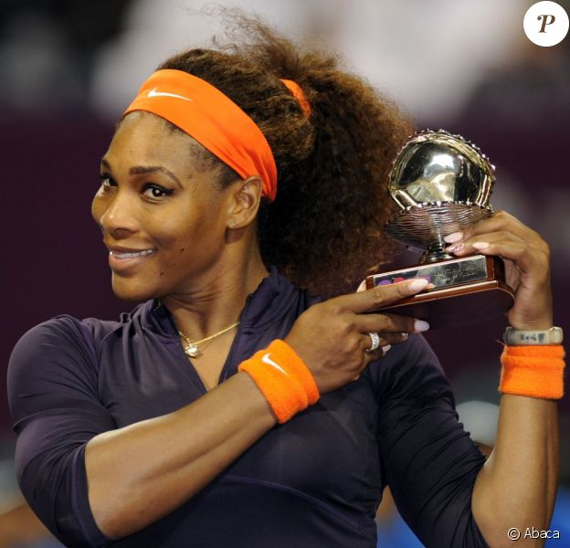 Serena Williams le 17 février 2013 à Doha