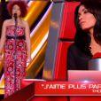 Neena dans The Voice 2 samedi 9 mars 2013 sur TF1