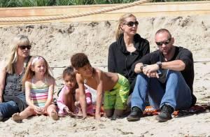 Heidi Klum, lumineuse et amoureuse : Week-end chargé avec sa craquante tribu