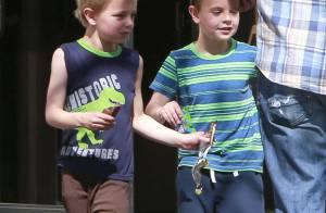 Britney Spears : Fraîche et estivale, direction la gym avec ses fils !