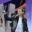 David Guetta lors de la cérémonie des  40 Principales awards  à Madrid le 24 Janvier 2013