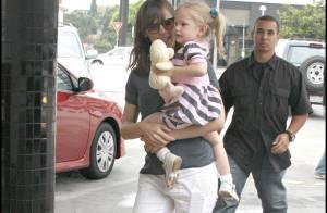PHOTOS : Jennifer Garner promène sa fille Violet, en attendant... un nouveau bébé ?