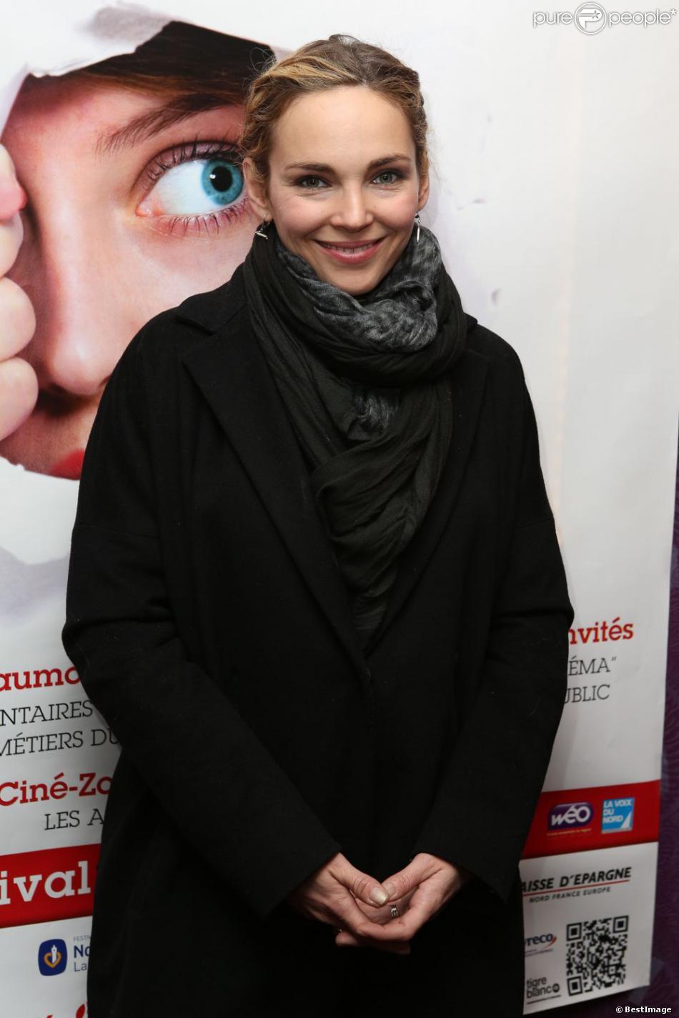 Claire Keim à l'ouverture du Festival 2 Cinéma, à Valenciennes, le 18 mars 2013.