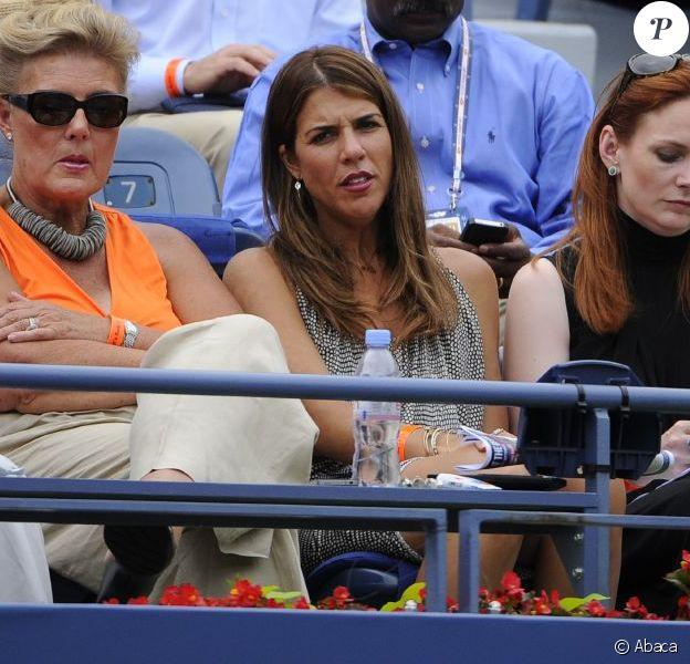 Jennifer Capriati lors de l'US Open le 2 septembre 2012. En avril 2013, Jennifer Capriati devra répondre de faits de harcèlement et de violence à l'encontre de son ex-compagnon Ivan Brannan.