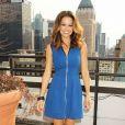 Brooke Burke lors du lancement du dernier court-métrage de la marque Claritin contre les allergies dont elle est l'héroïne, à New York, le 21 mars 2013