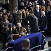Obsèques de Jean-Marc Roberts : Valérie Trierweiler, Edouard Baer en deuil