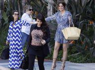 Kim Kardashian, enceinte : Le réconfort en famille et enfin des vêtements larges