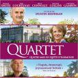 Affiche officielle du film Quartet.