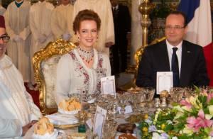 Lalla Salma du Maroc somptueuse, Moulay El Hassan chic pour François Hollande