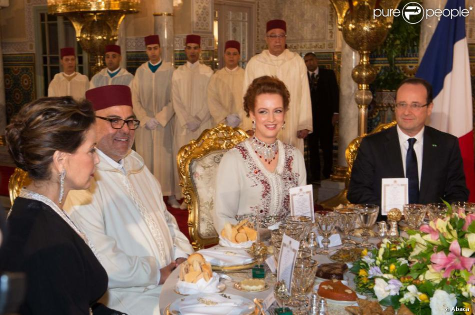 Lalla Salma Du Maroc Somptueuse Moulay El Hassan Chic Pour Fran Ois Hollande