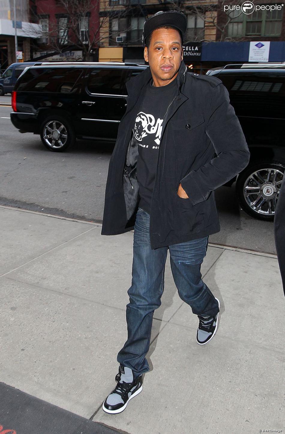 Jay-Z à New York. Le 29 mars 2013.