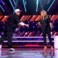 Battle entre Sophie et Lord Bitum dans The Voice 2 sur TF1 le samedi 6 avril 2013