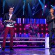 Battle entre Jonathan Urek et Mickaël Pouvin dans The Voice 2 sur TF1 le samedi 6 avril 2013