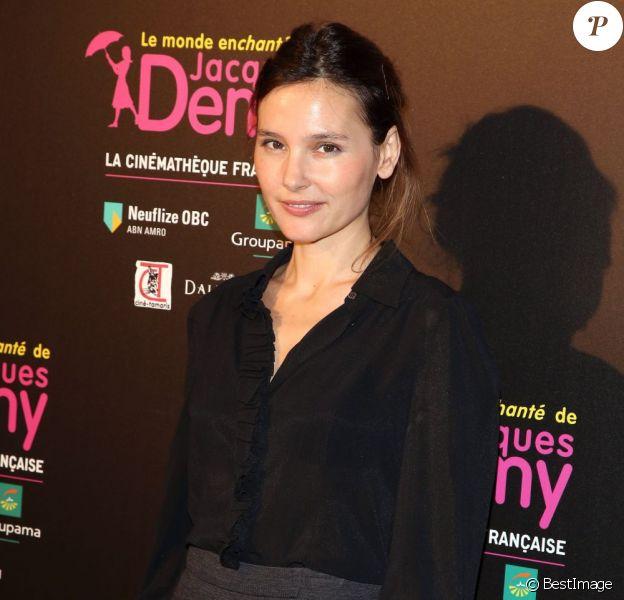 Virginie Ledoyen pendant la soirée d'hommage à Jacques Demy pour l'exposition consacrée au cinéaste à la Cinémathèque Française, Paris, le 8 avril 2013.