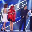 Emmanuel Djob est sauvé par le public, Manu Rey par son coach Garou dans The Voice 2 le samedi 13 avril 2013 sur TF1