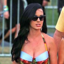 Katy Perry super glamour à Coachella 2013 le 13 avril 2013.