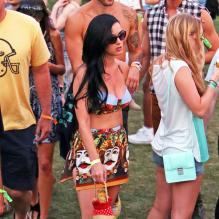 Katy Perry super glamour à Coachella 2013 le 13/04/2013.