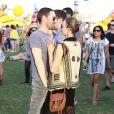 Kate Bosworth et Michael Polish au 2e jour du Festival de musique de Coachella à Indio le 13 avril 2013.