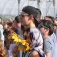 Vanessa Hudgens et son petit ami Austin Butler au Festival de Coachella, le 14 Avril 2013