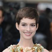Anne Hathaway, influente: Elle détrône Jennifer Aniston avec sa coupe garçonne !