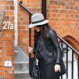Exclu - Jenna Dewan, enceinte à Londres, le 18 avril 2013.