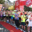Des stars étaient au départ du marathon de Londres le 21 avril 2013.