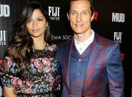 Matthew McConaughey: Maigre, le visage marqué avec sa femme et Reese Witherspoon