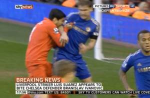 Luis Suarez : Le coup de folie du Cannibale de Liverpool
