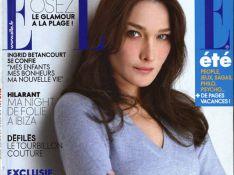 Carla Bruni parle de la femme qui l'a remplacée dans le coeur de Raphaël Enthoven...