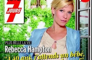 Rebecca Hampton : La star de Plus belle la vie est enceinte !