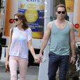 Chris Pine et le mannequin Dominique Piek à New York le 5 juillet 2012