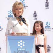 Jane Fonda, avec sa petite-fille Viva et son fils Troy : La star est au top